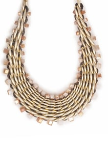 Braided Gold Necklace - CIRCUZZ