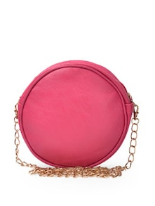 Candy Pink Round Sling Bag - Toniq