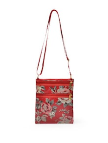 Red Floral Sling Bag - Toniq