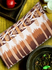 Twin Printed Brown Pillow Cover - HOUSE THIS