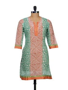 Assorted Print Cotton Kurti - AFSANA