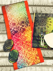 Multicolor Set Of Table Linens - PRIYAA-pret couture home
