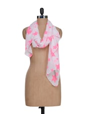 Star Print Scarf -  online shopping for Scarves