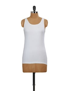 Essential White Tank Top - Miss Chase