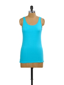 Turquoise Tank Top - Miss Chase