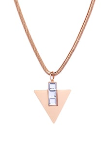 Elegant Pink & Gold Necklace - CIRCUZZ