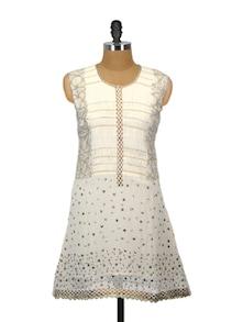 Pristine White Summer Kurta - Glam And Luxe