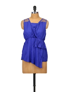 Bold Blue Summer Top - Glam And Luxe