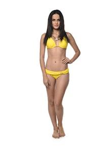 Sunshine Yellow Two Piece Bikini - Holidae