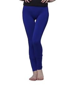 Royal Blue Warm Up Leggings - Cloe