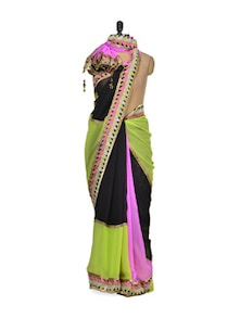Contemporary And Chic Summer Saree - Purple Oyster