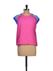 Colours Galore Poly Crepe Top - Silk Weavers