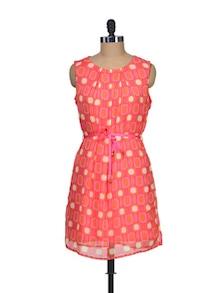 Pretty Pink Playful Dress - Silk Weavers