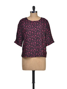 Print Passion Summer Top - Silk Weavers