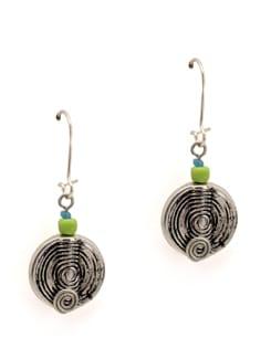 Silver Spiral Earrings - Eesha Zaveri; Jewellery By Design