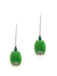 Go Green Earring - Eesha Zaveri; Jewellery By Design