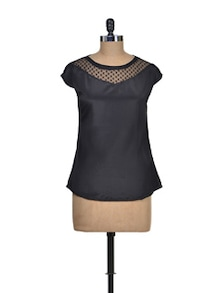 Chic Black Top - Miss Chase