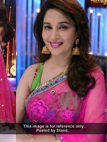 Passionate Pink Net Saree - ROOP KASHISH