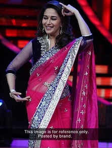 Pink Passion Net Saree - ROOP KASHISH
