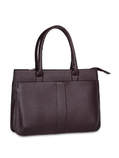 Textured Laptop Bag - ALESSIA