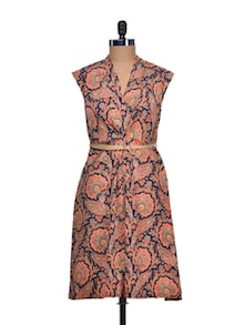 Printed Panache Summer Dress - Mishka