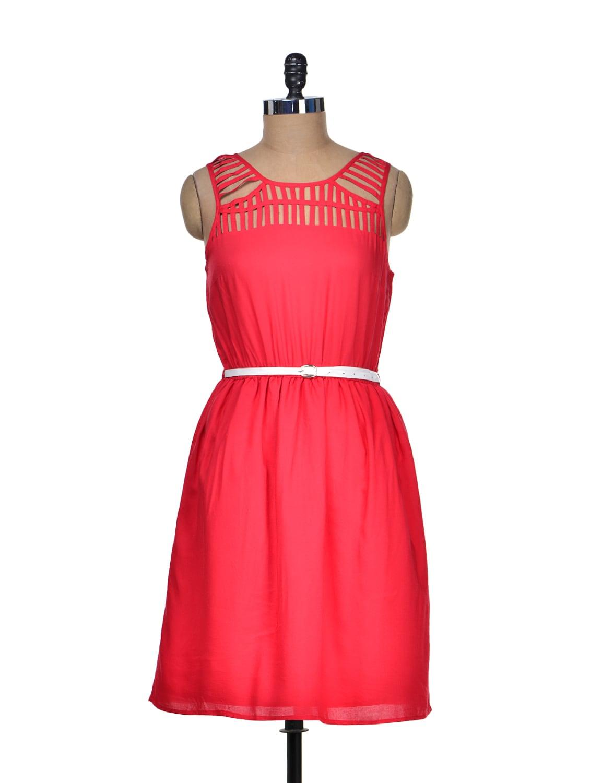 Dare In Red Summer Dress - Mishka