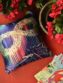 Cushion Cover In Adorable Colour Pencil Print - Yolo By Spread