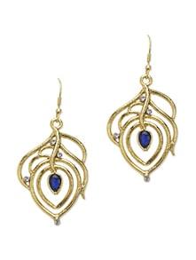 Gold Leaf Earrings - YOUSHINE