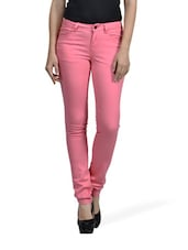 Candy Crush Pink Trousers - Mind The Gap