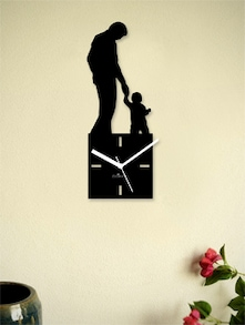 Designer Wall Clock For Father's Day - Zeeshaan