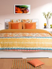 Mustard Double Duvet Cover - HOUSE THIS