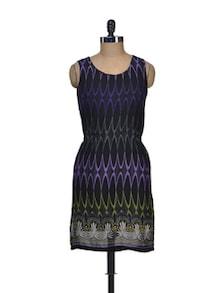 Hot Black Printed Dress - Harpa