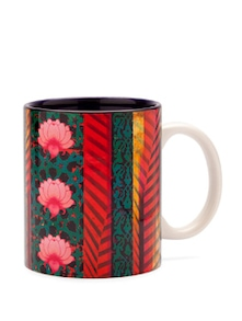 Flower Quill Coffee Mug - India Circus