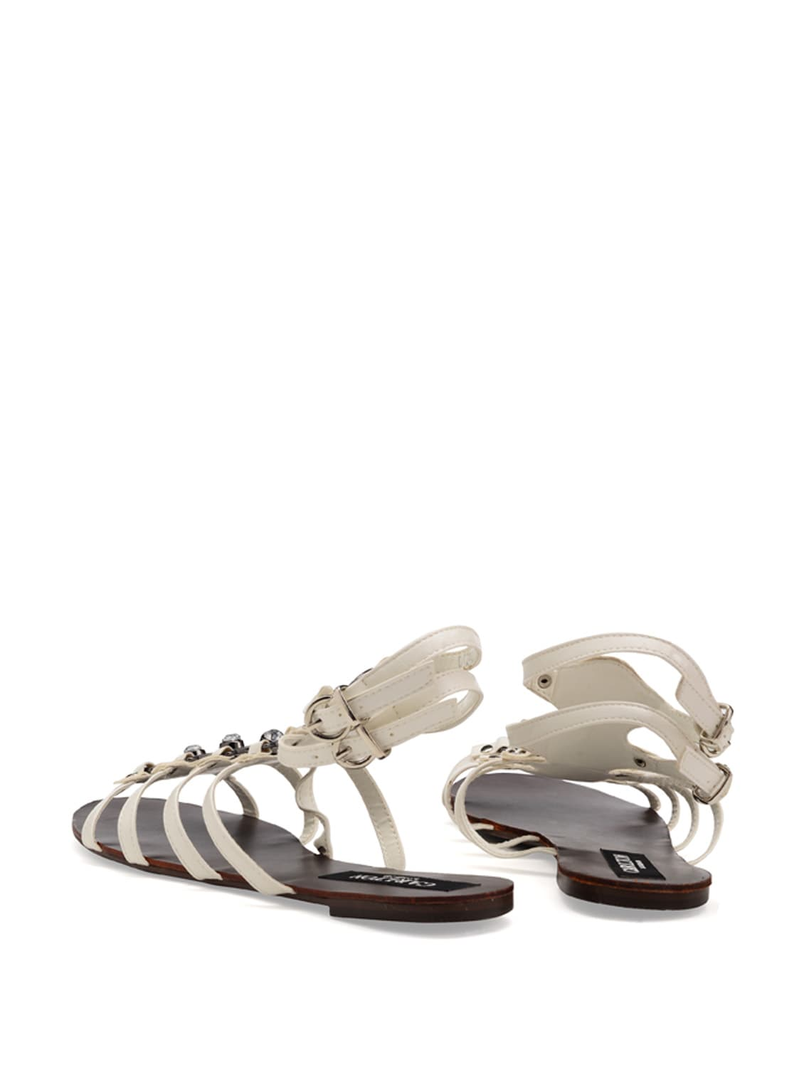 c27569208 Buy White Gladiator Sandals for Women from Carlton London for ₹1495 at 0%  off