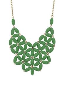 Elegant Emerald Green Neckpiece - STREET 9