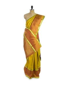 Mustard Magic Saree - Pratiksha