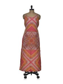 Printed Maxi Dress - Tapyti