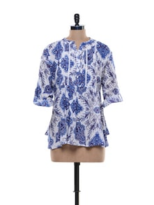 Printed Floral Top - URBAN RELIGION