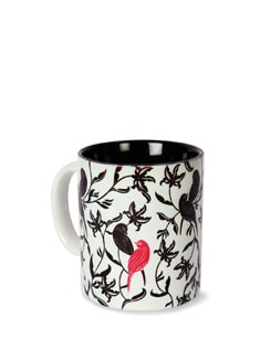 Tamara Chirping Birds Ceramic Coffee Mug - India Circus