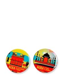 Iconic Agra Fridge Magnets - Mad(e) In India