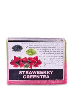 Strawberry Green Tea Soap (Vegan) - SOULFLOWER