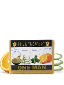 One Man Soap For Men (Vegan) - SOULFLOWER