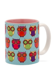 Cute Owl Coffee Mug - India Circus