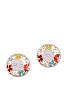Flower Power Multicolour Earrings - CIRCUZZ