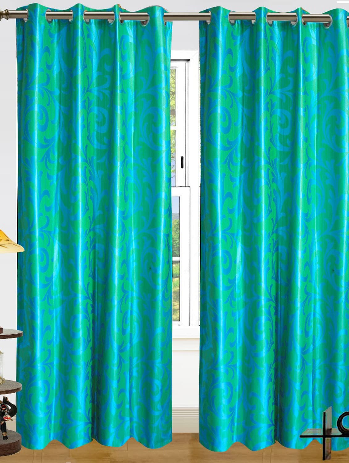 Buy Online Striking Sea Green Curtains From Home Decor For Unisex By Dekor World For 873 At 38 Off 2021 Limeroad Com
