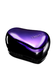 Black &Purple Compact Styler Detangling Brush - Tangle Teezer