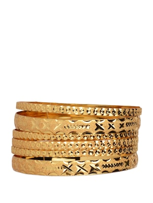 Gold Plated Bangles -  online shopping for bangles