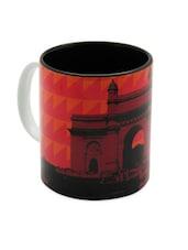 Printed Vintage Ceramic Coffee Mug - The Elephant Company