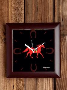 Stallion Horseshoe Wall Clock - The Elephant Company