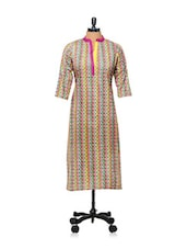 Multicoloured Printed Kurti - AFSANA